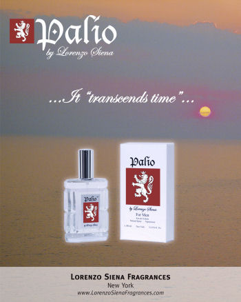 Palio Mens and Womens Fragrances by Lorenzo Siena